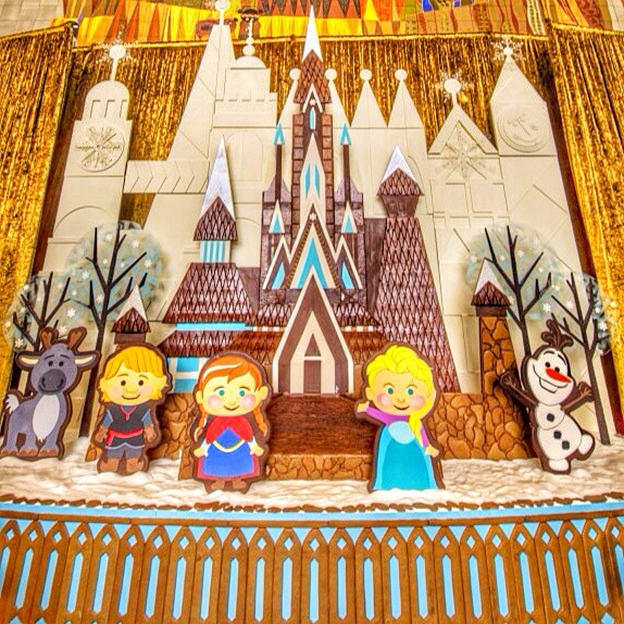 Find Out Where This Frozen Gingerbread House is Located at Walt Disney World