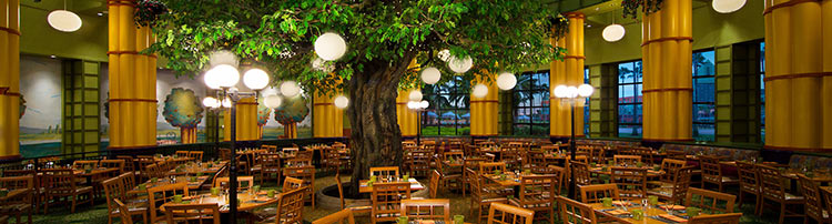 Garden Grove Restaurant at Walt Disney World