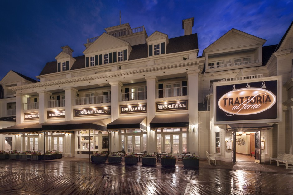 Trattoria al Forno at the Walt Disney World Boardwalk