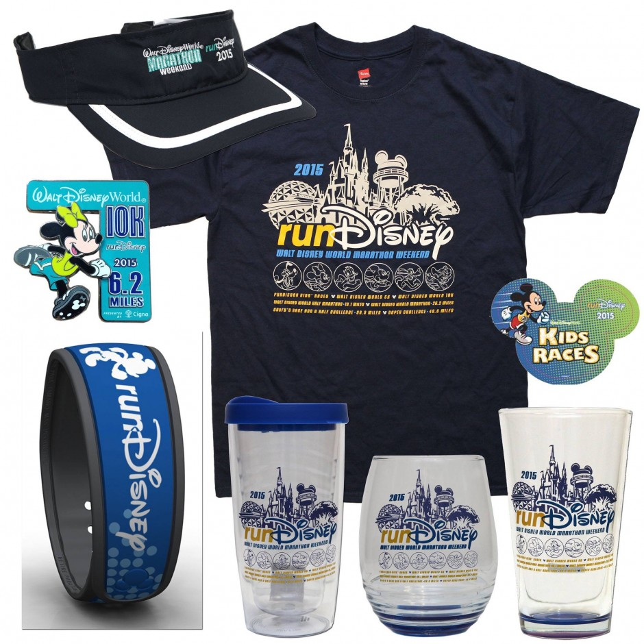 First Look at the 2015 runDisney Walt Disney World Marathon Weekend Merchandise {Dopey, Goofy, Full, Half, 10K & 5K}