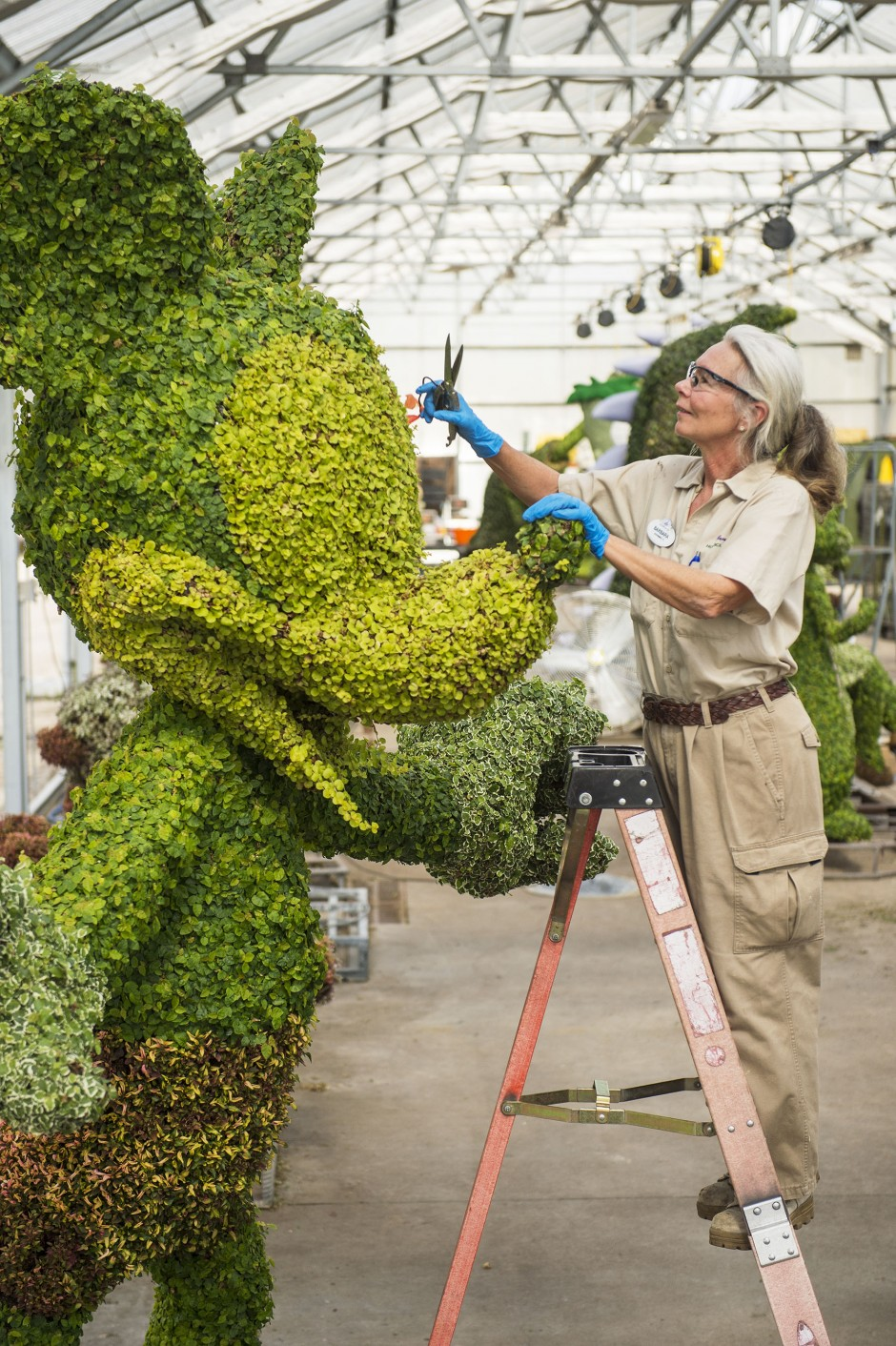 Mickey Topiary Epcot International Flower and Garden Festival