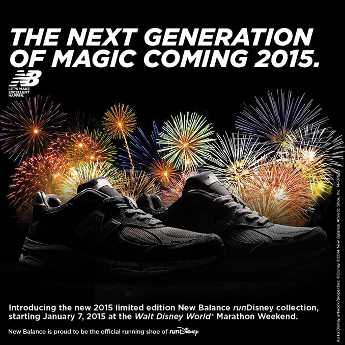 New Balance Teases Limited Edition 2015 runDisney Shoe with Newly Released Image