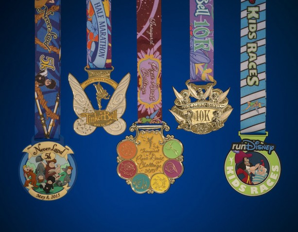 2015 runDisney Tinker Bell Half Marathon Weekend Medals Revealed