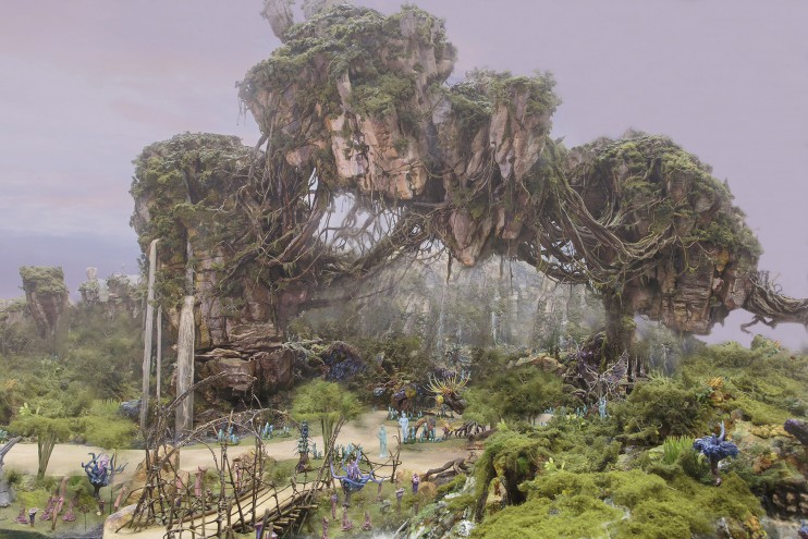 New AVATAR Land Artist Rendering Released for Animal Kingdom Theme Park
