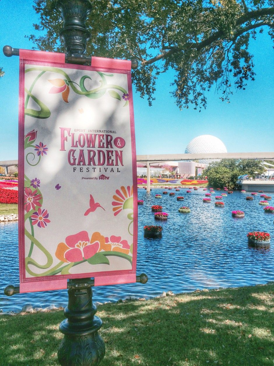2015 Epcot International Flower and Garden Festival Outdoor Kitchen Food and Wine Menus