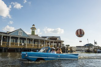 The BOATHOUSE, in Downtown Disney at Walt Disney World Resort - Amphicar