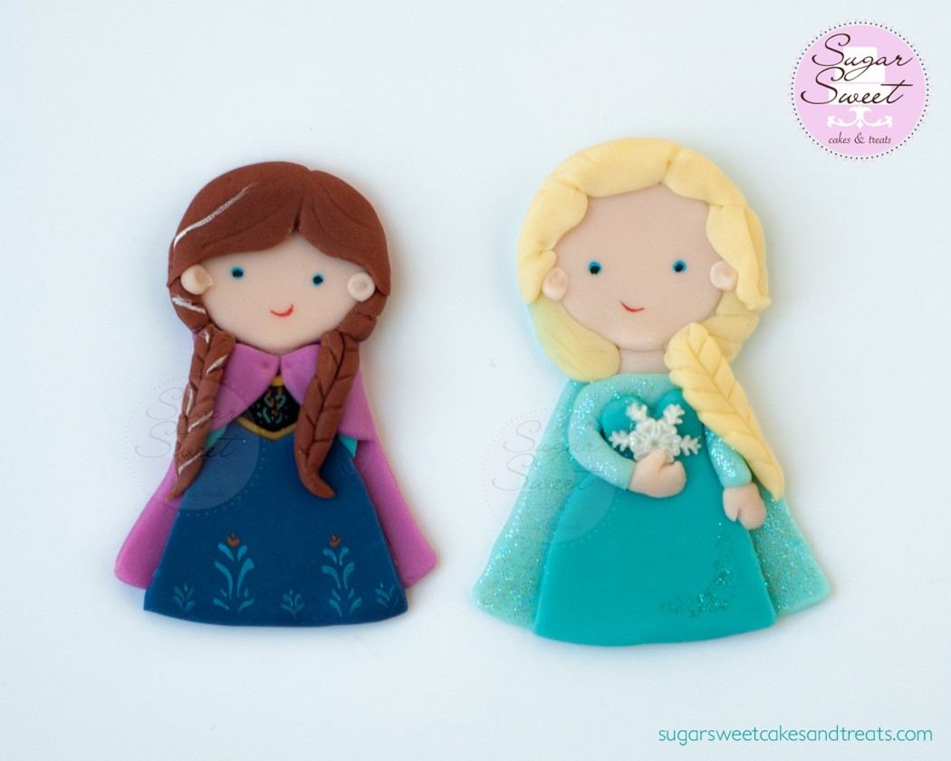 Frozen Anna and Elsa Disney Cake Toppers Disney Every Day
