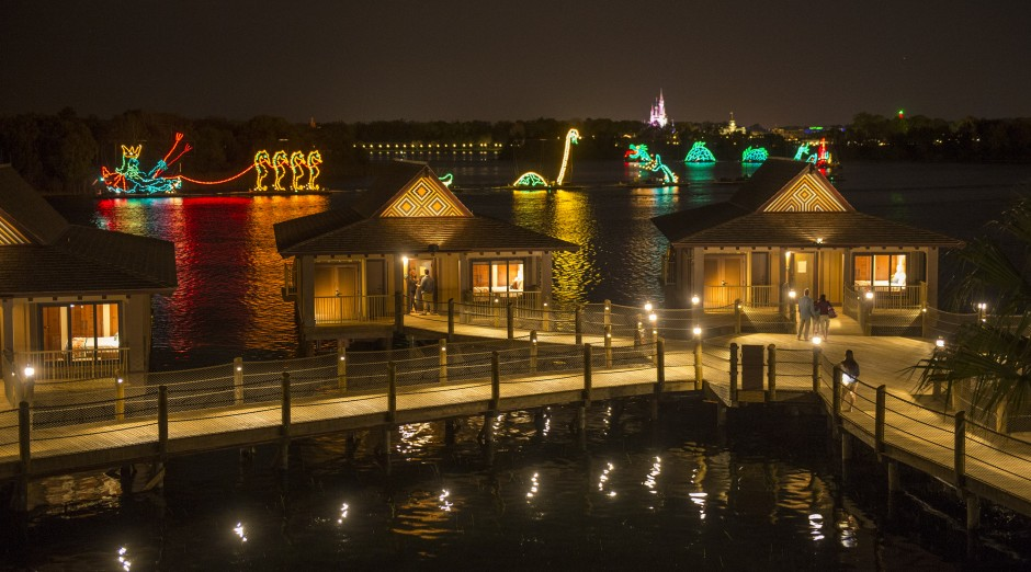 Disney Polynesian Resort Village - Electric Water Pageant