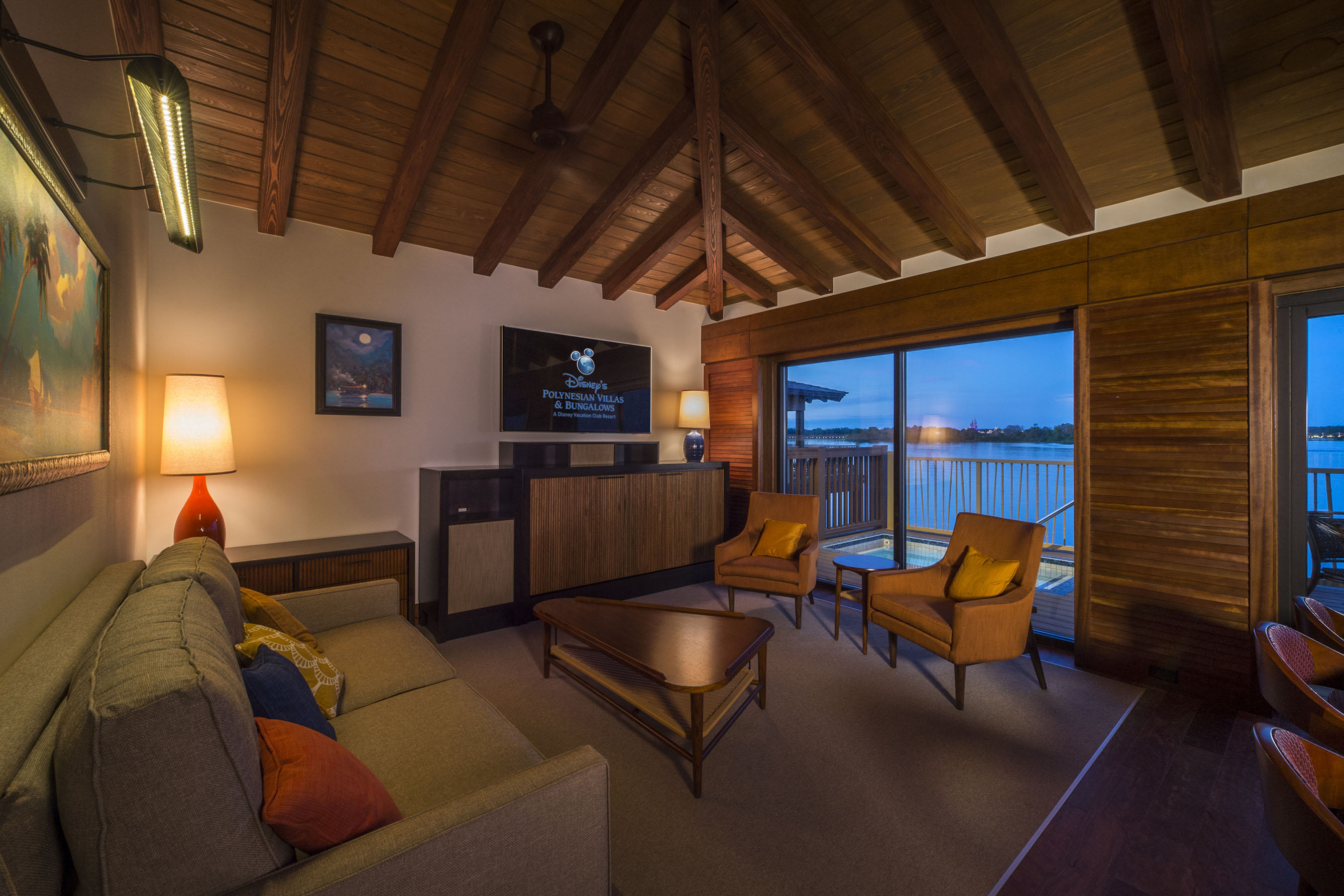 Photo Tour of The Bora Bora Bungalows at Disney   s Polynesian Village
