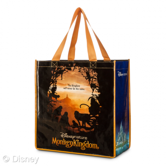 Disney Store Earth Day Monkey Kingdom Shopping Tote