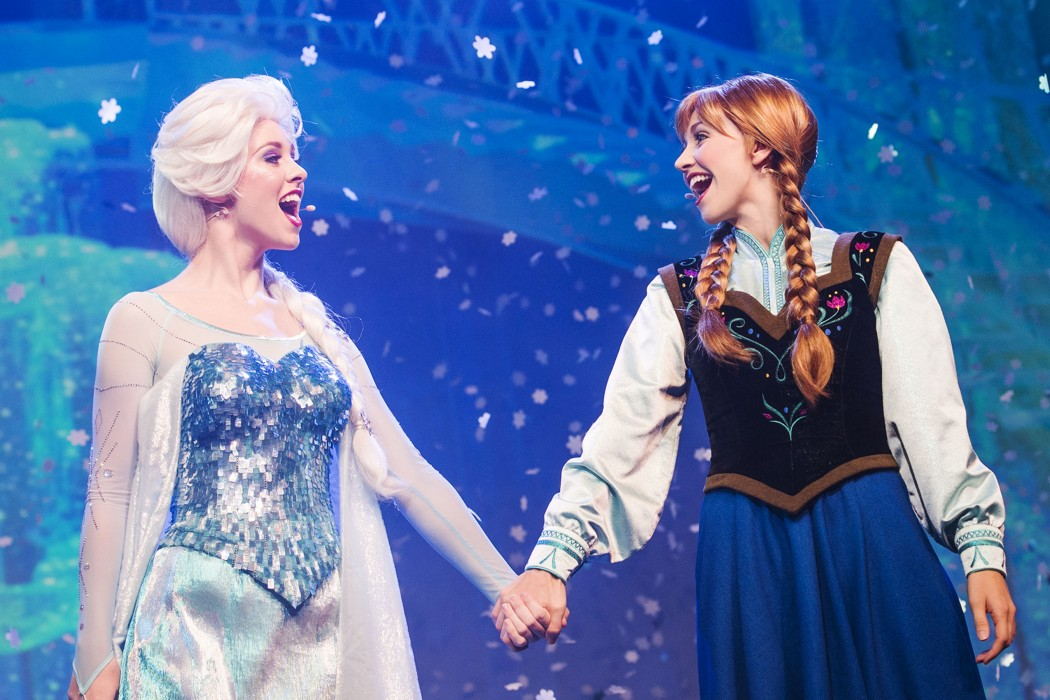 Frozen Sing Along at Walt Disney World