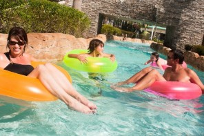 Hilton Bonnet Creek Lazy River Pool.