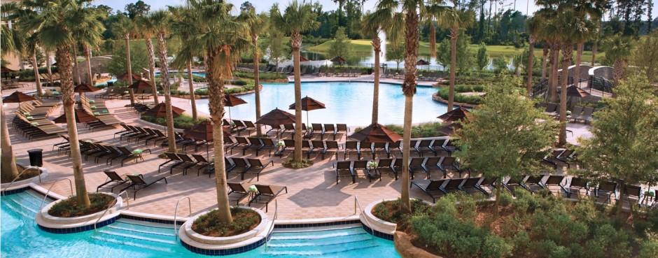 Hilton Orlando Bonnet Creek Pool at Walt Disney World