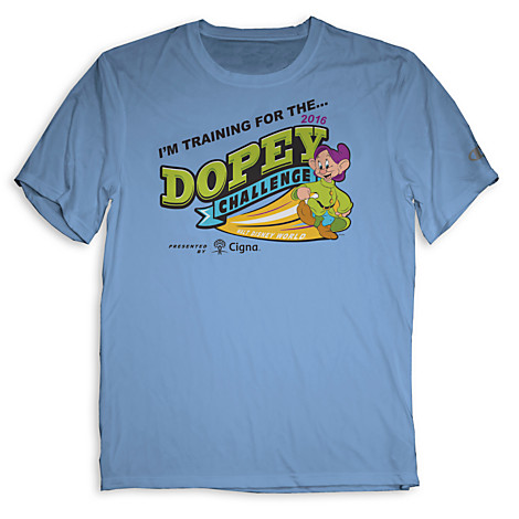 In Training 2016 runDisney Dopey Challenge Shirt
