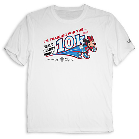 In Training 2016 runDisney Walt Disney World 10K Shirt