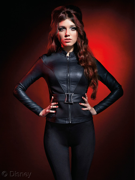 MARVEL Avengers Her Universe Black Widow Belted Jacket
