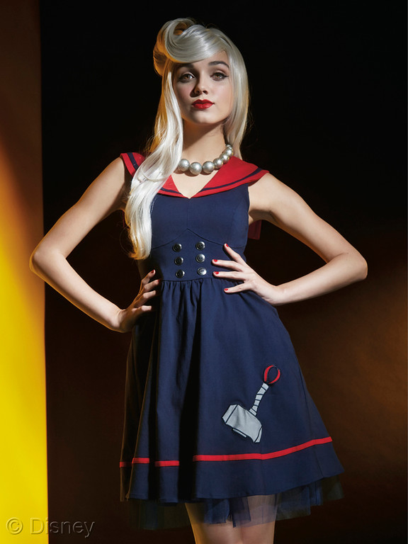 MARVEL Avengers Her Universe Thor Sailor Dress