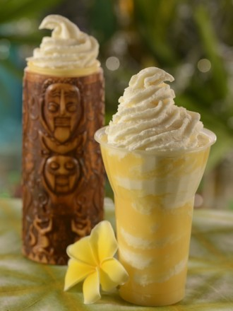 Pineapple Dole Whip at Walt Disney World