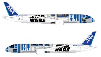 R2 D2 Star Wars Commercial Airplane