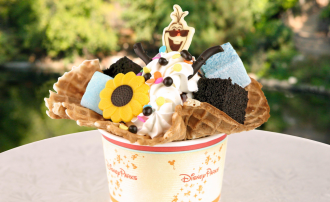 Olaf's Perfect Ice Cream Sundae Day at Disney