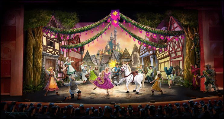 Tangled the Musical Coming to Disney Cruise Line