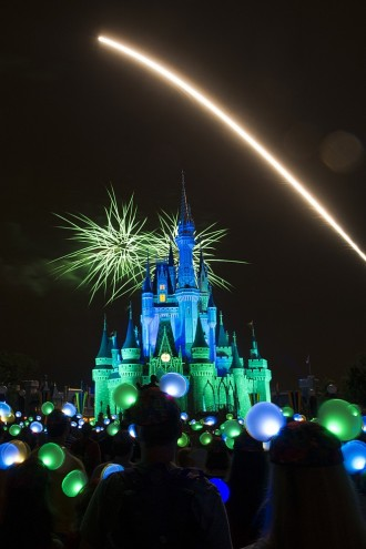 Wishes Over Cinderella Castle in the Magic Kingdom