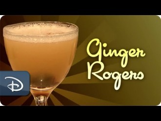 How to Make the Ginger Rogers Cocktail from Carthay Circle at the Disneyland Resort