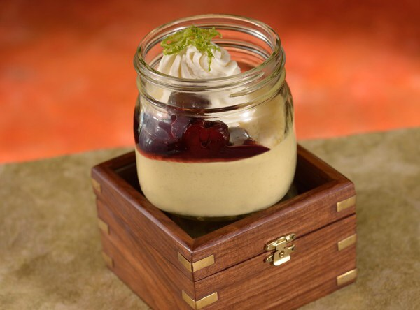 The Boathouse at Disney Springs - Key Lime Pie in a Jar