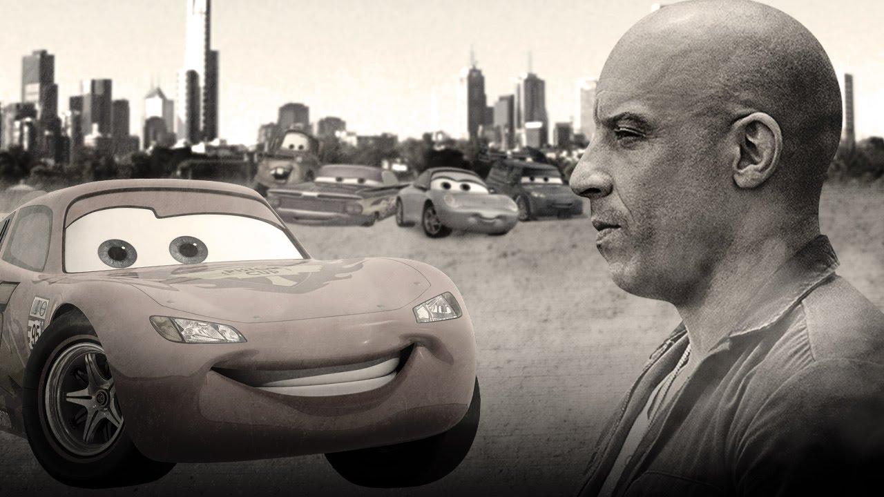 movie trailer mashup if furious 7 was a disney pixar cars film disney every day. Black Bedroom Furniture Sets. Home Design Ideas