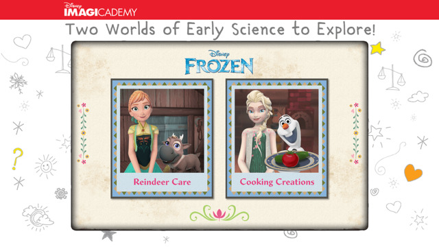 Frozen Early Science App