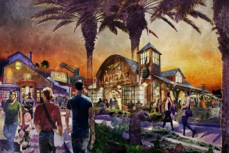 Artist Renderings of New Indiana Jones Bar Coming to Disney Springs