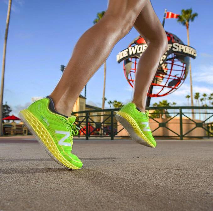 First Look at the Glow in the Dark runDisney New Balance Tinker Bell Shoe