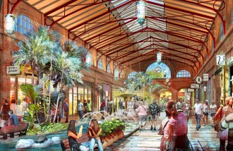 First Image Released of Disney Springs Town Center Coming to Walt Disney World Resort