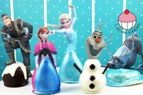 How to Make Disney Frozen Character Cake Pops