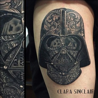 Star Wars Darth Vader Tattoo
