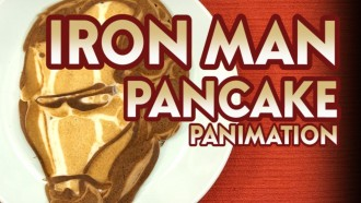 MARVEL Iron Man Pancake Movie {Panimation}