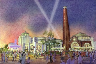 Artist Renderings of The Edison to Open at Disney Springs