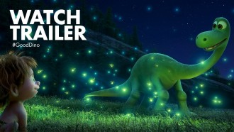 "Disney Releases the Official Movie Trailer for Pixar's Film ""The Good Dinosaur"""
