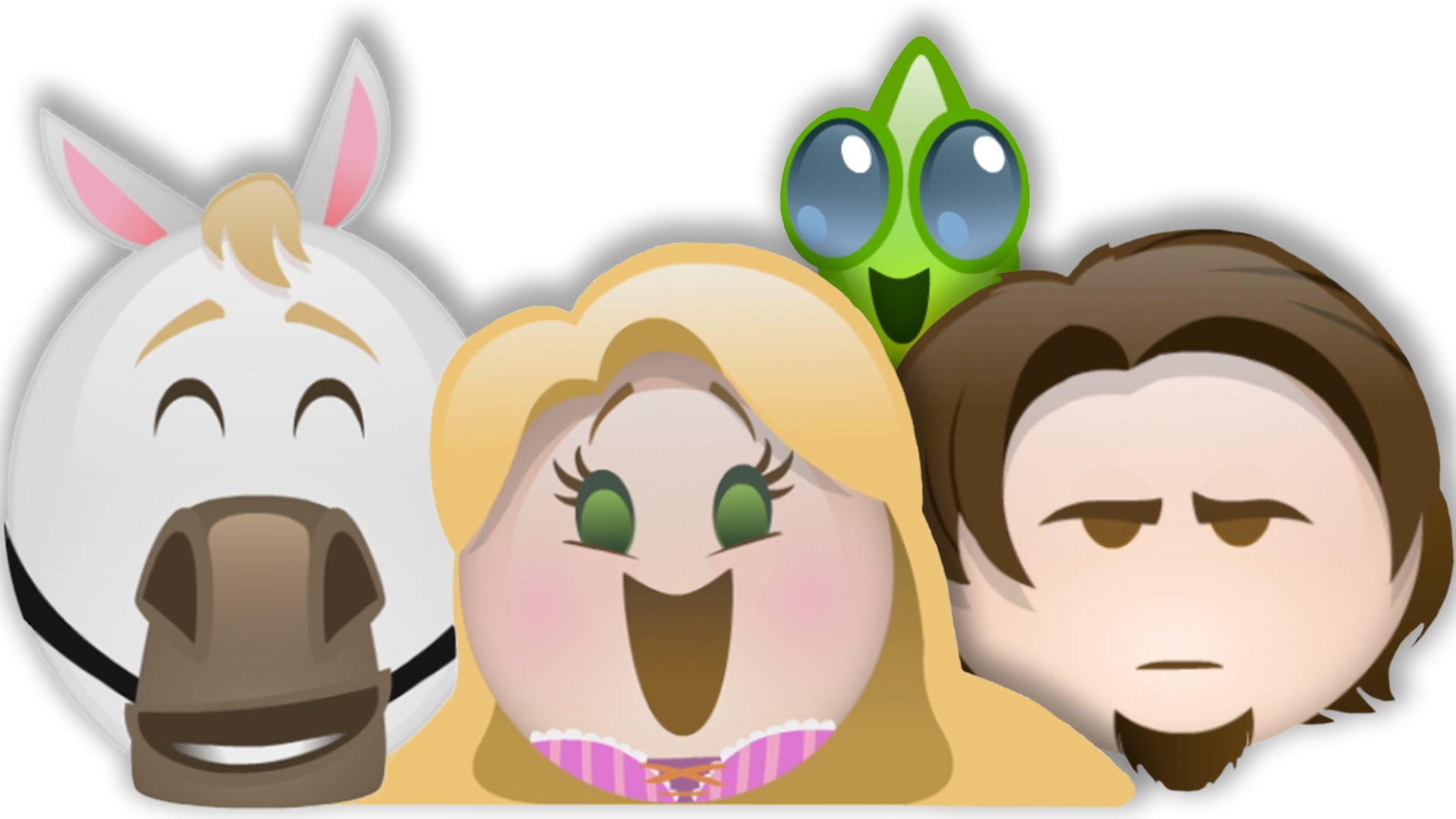 if tangled were a disney emoji movie
