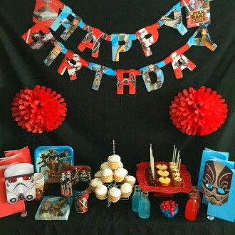Disney Star Wars Rebels Birthday Party Dessert Table for Under $50