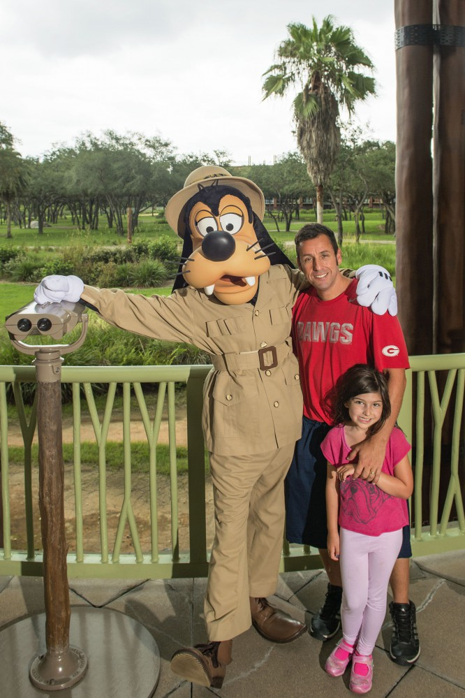 Adam Sandler Spotted at the Walt Disney World Resort