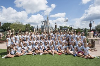Miss America 2016 Contestants Visit the Magic Kingdom