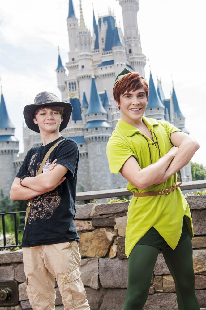 Iron Man 3 Actor Ty Simpkins Visits Walt Disney World for His Birthday