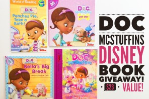 Doc McStuffins Disney Book Giveaway