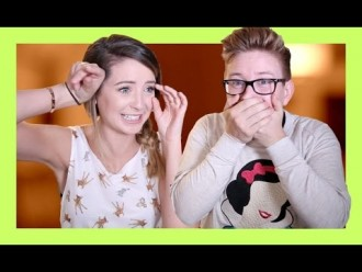 The Ultimate Disney Music Trivia Challenge Between Tyler Oakley and Zoella