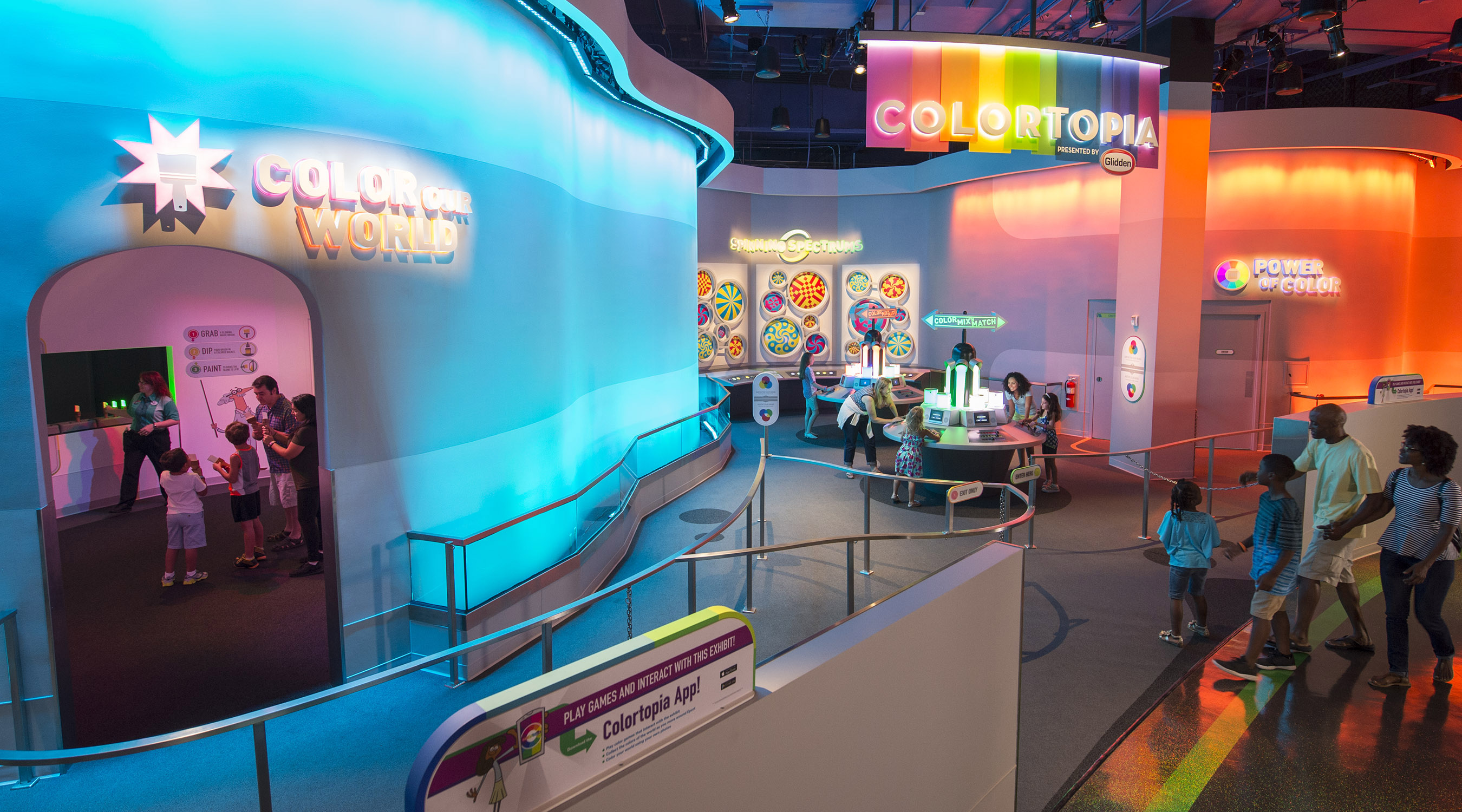 Epcot's Newest Attraction – Colortopia in Innoventions ...