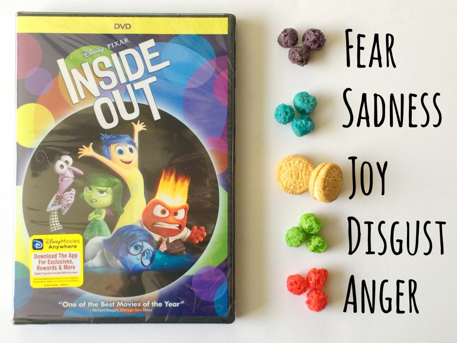 "Disney Pixar ""Inside Out"" Puppy Chow"