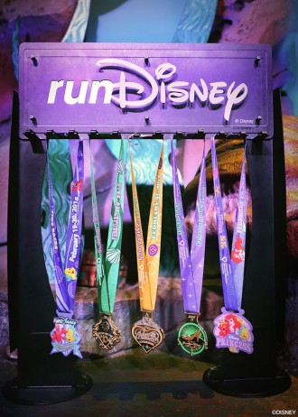 2016 runDisney Princess Half Marathon Weekend Race Medals
