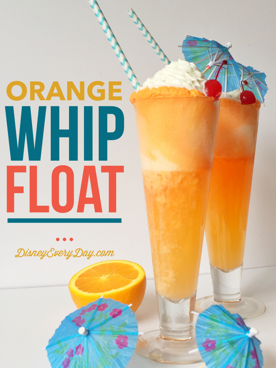 Orange Whip Ice Cream Float