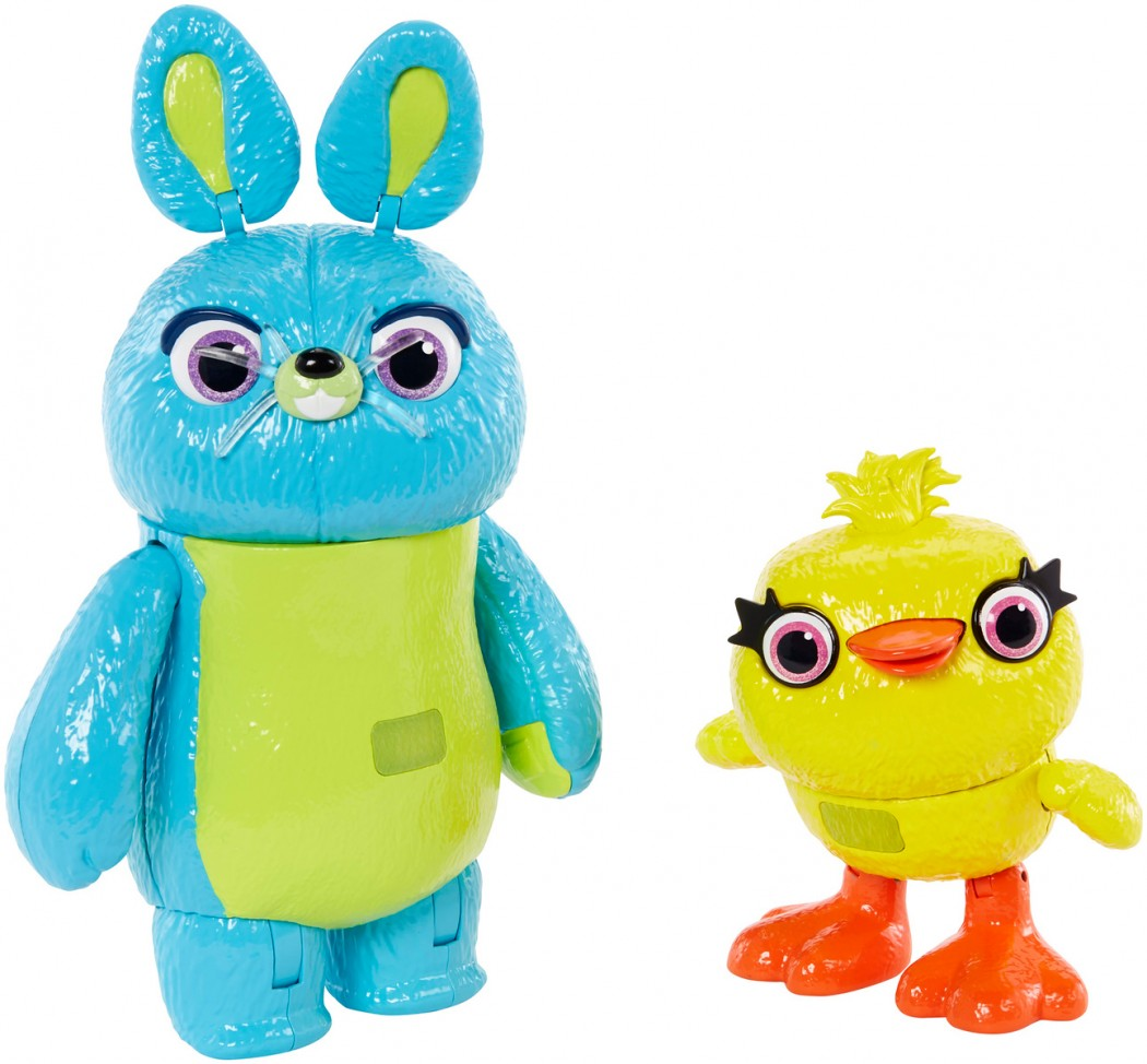 Disney Pixar Toy Story Ducky and Bunny 2-Pack